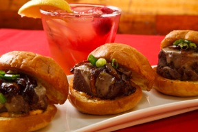 Our Filet of Beef Sliders!
