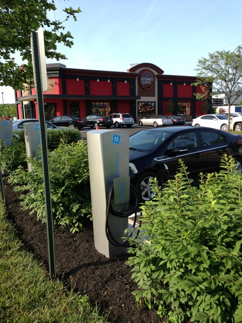 We have charging stations at our Kitbars in Herndon & Owings Mills