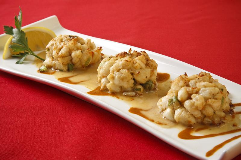 Three Lump Crab Cakes with Lemon Butter & Piri Piri