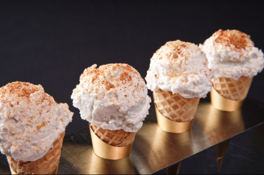 Pumpkin Cheesecake Cove Cones