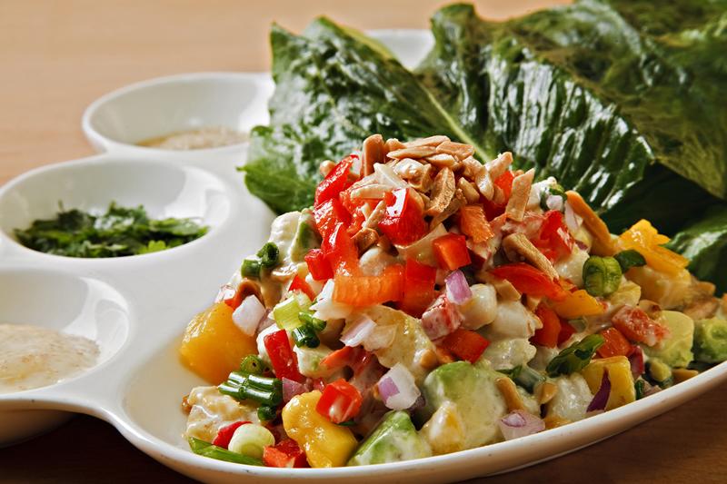 Margarita Crab Lettuce Wraps